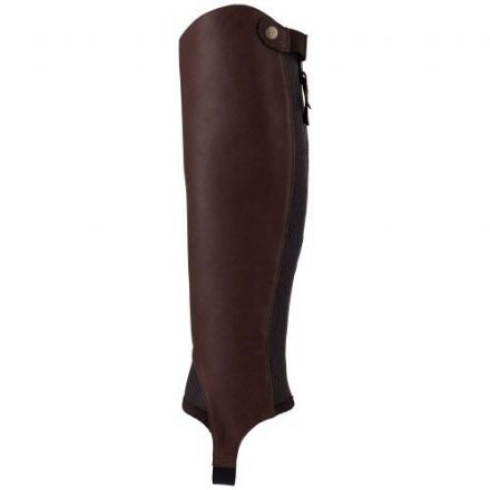 Ariat Close Contact Chaps Adult Waxed Chocolate